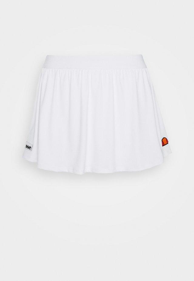 TRIONFO - Sportsnederdel - white