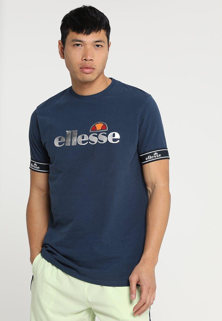Ellesse - CINQUE - T-shirt print - navy