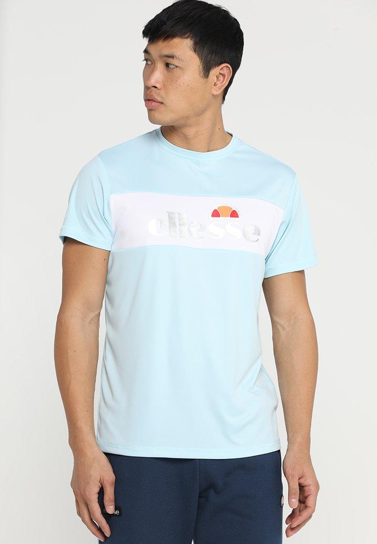 Ellesse - TEMMETI - Print T-shirt - light blue