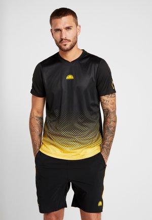 LORENZO - Print T-shirt - black