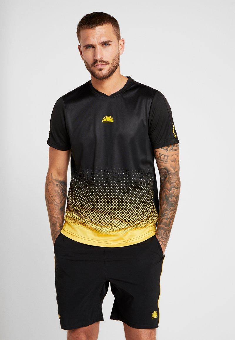 Ellesse - LORENZO - Camiseta estampada - black