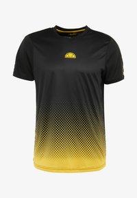 Ellesse - LORENZO - Camiseta estampada - black - 3