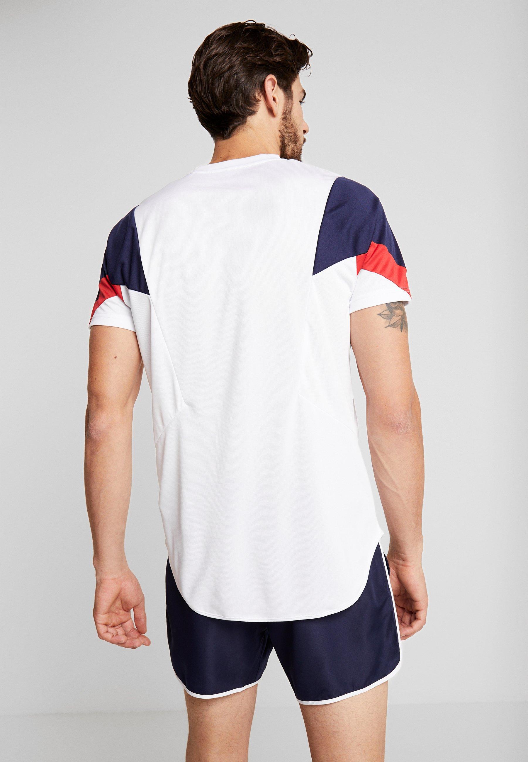 shirt BeasleyT Imprimé Ellesse White TlFcJuK13