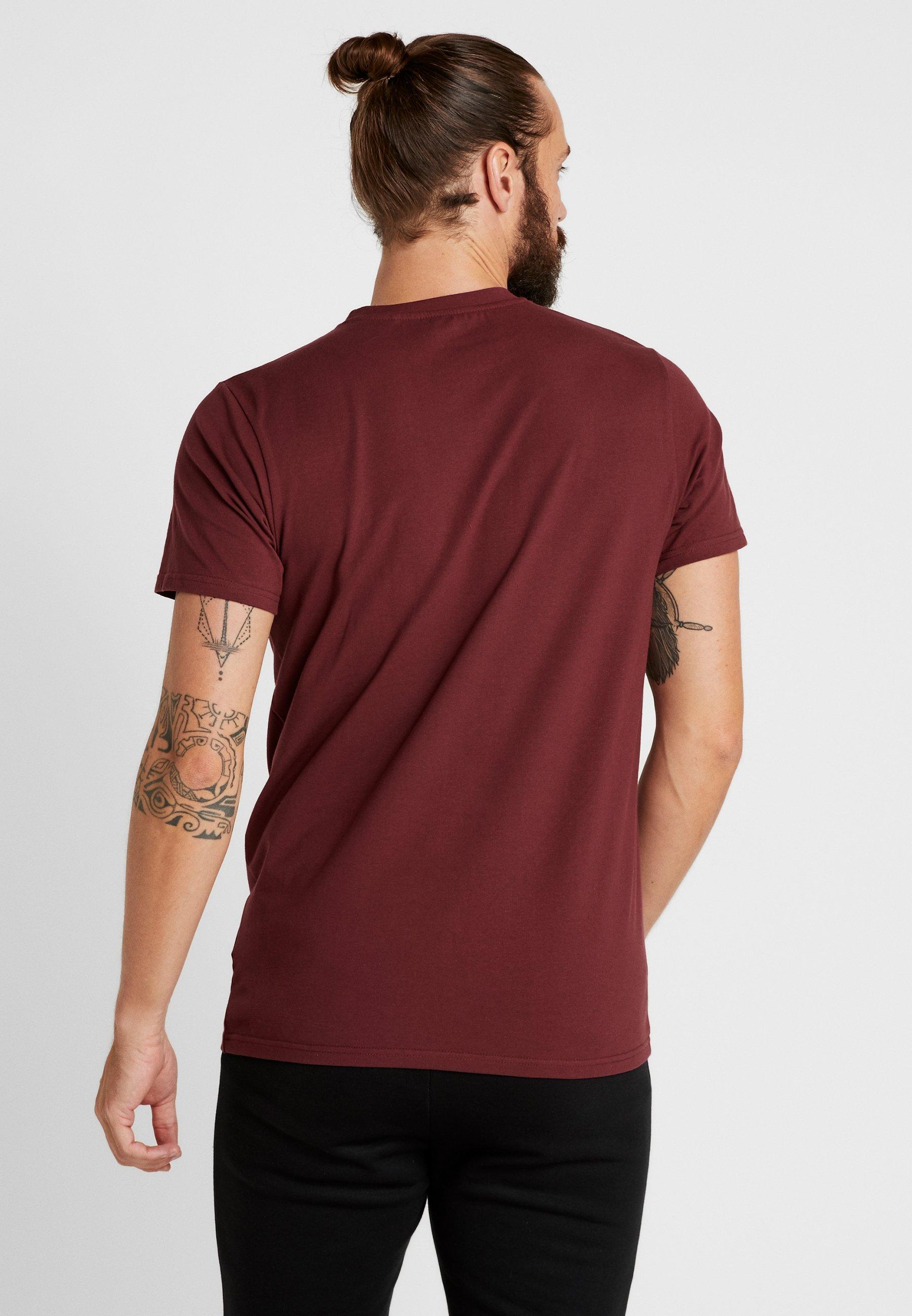 Ellesse GinitiT Ellesse GinitiT shirt shirt Imprimé Ellesse Imprimé Burgundy Burgundy htrdsQC