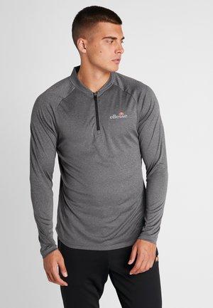 JANETI - T-shirt à manches longues - black