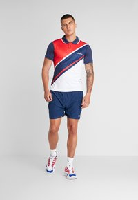 Ellesse - CROCE - Poloshirt - navy/red/white - 1