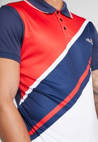 Ellesse - CROCE - Poloshirt - navy/red/white - 5