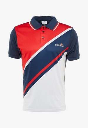 CROCE - Poloshirt - navy/red/white