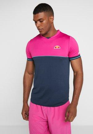 SPIKE - T-shirts print - pink/navy