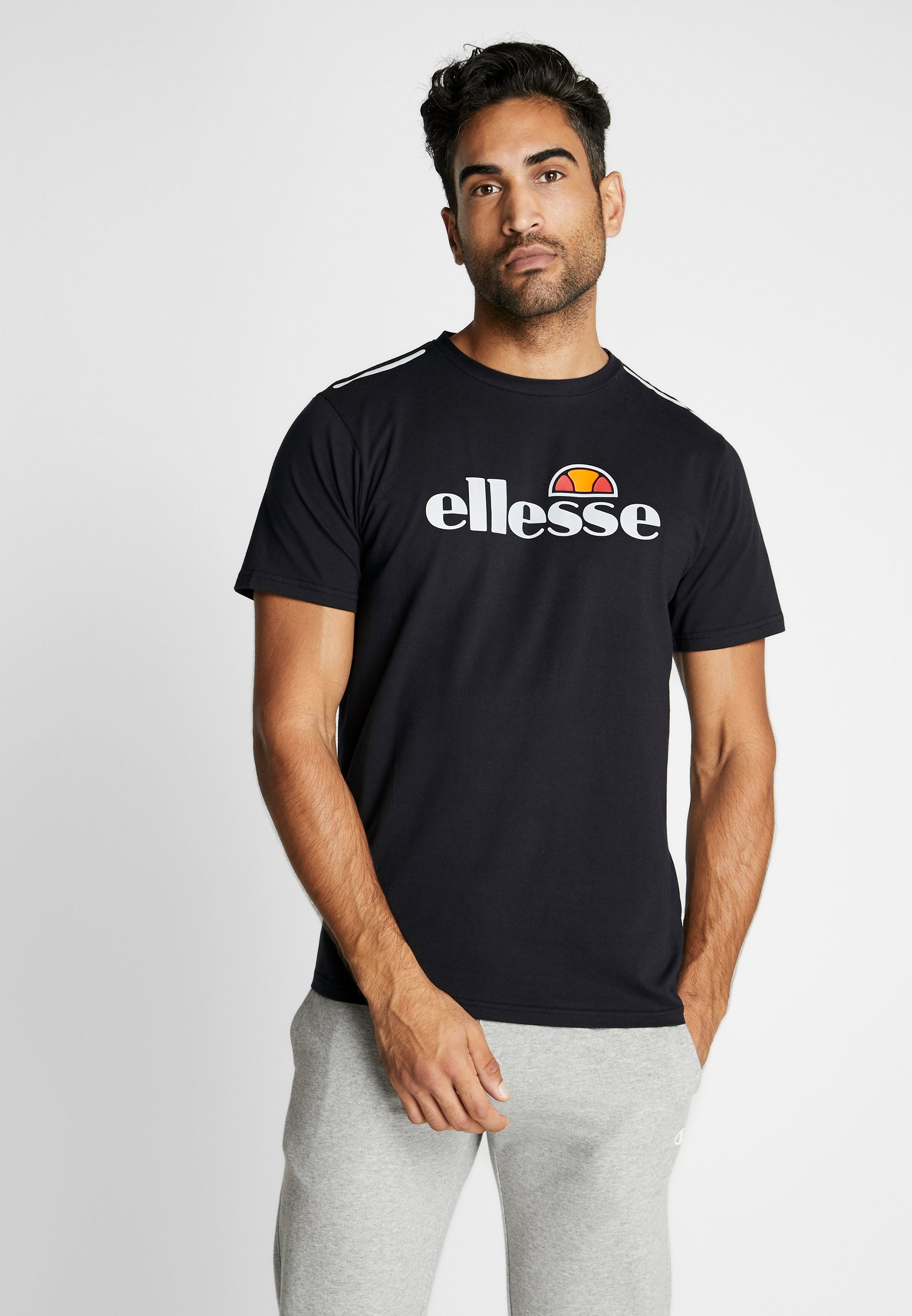 Ellesse Stampa Con CellaT shirt Black DbHIYWE29e
