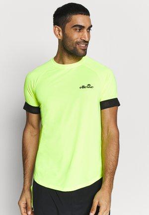 KAYLETTI - Camiseta estampada - neon yellow