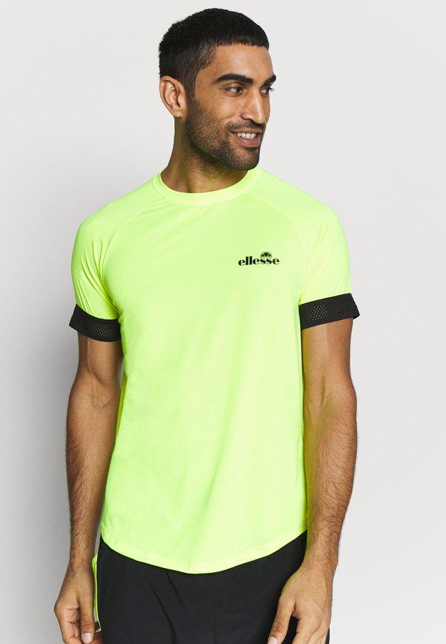 KAYLETTI - Print T-shirt - neon yellow