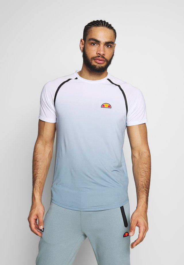 NOVALE - T-shirt med print - white