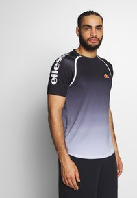 Ellesse - NOVALE - Print T-shirt - black - 0