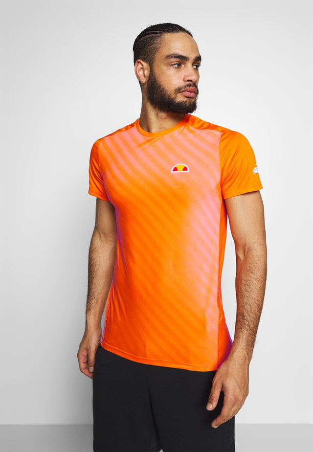 CHARGER - T-shirts print - orange