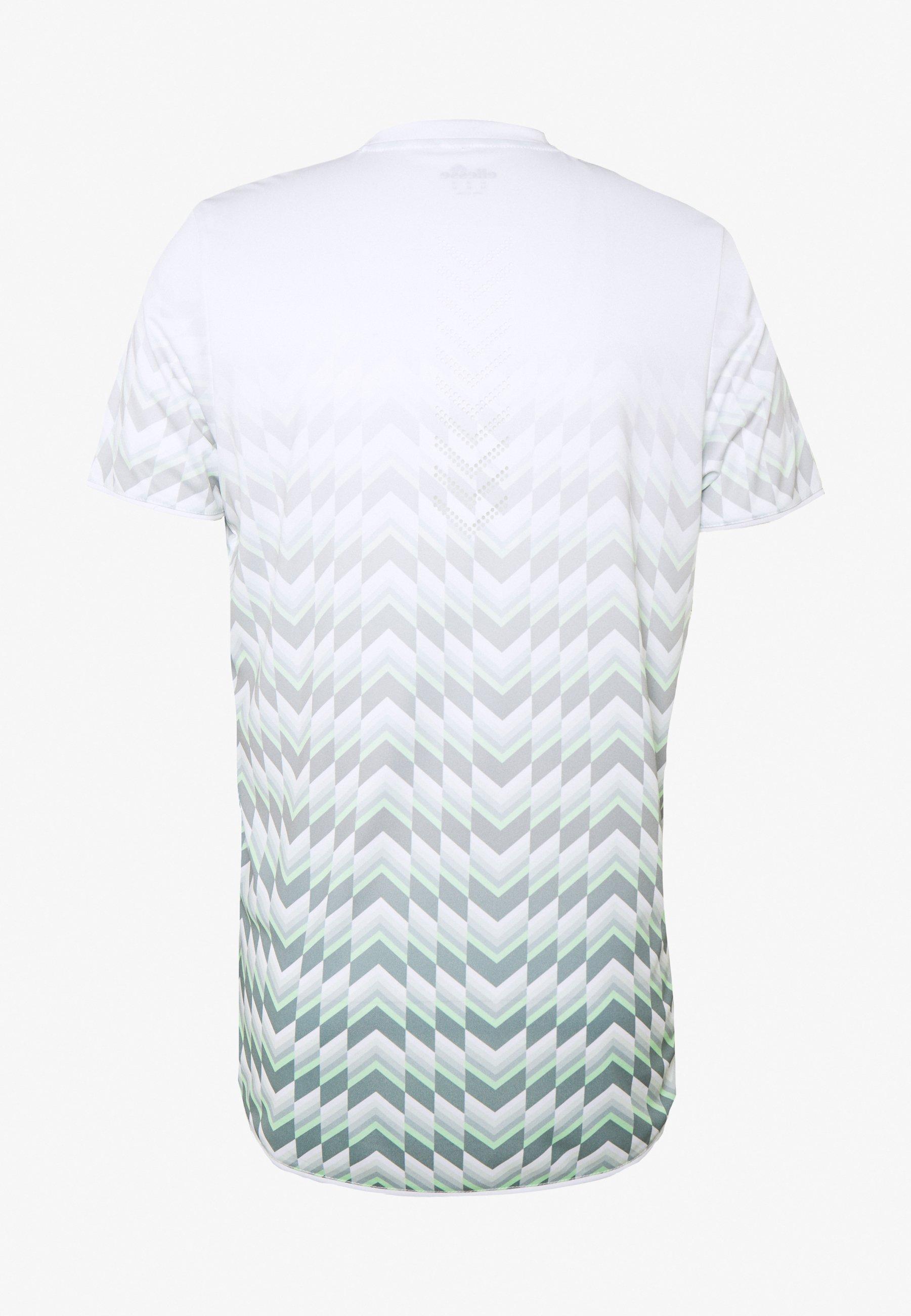 Ellesse T shirt imprimé green ZALANDO.FR