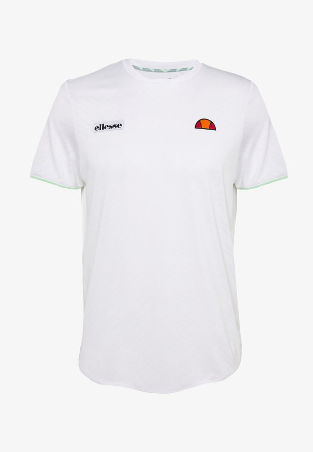 CREST - Basic T-shirt - white