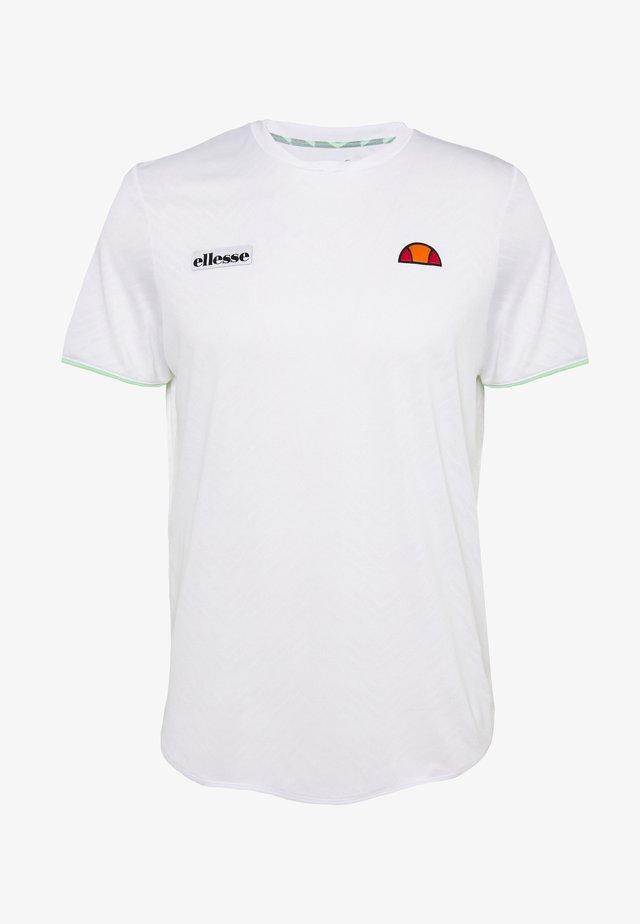 CREST - T-shirts basic - white