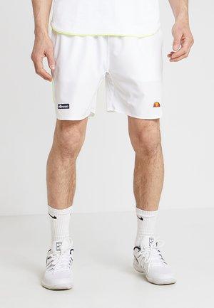 LLOYD - Sports shorts - white