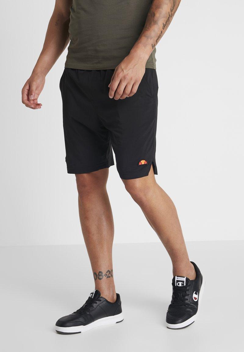 Ellesse - BORDINI - Pantalón corto de deporte - black