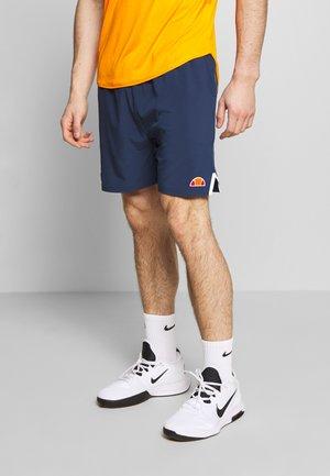 INTERCEPTOR - Sports shorts - navy