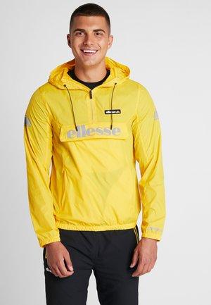 BERTO  - Windbreaker - yellow
