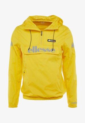 BERTO  - Veste coupe-vent - yellow