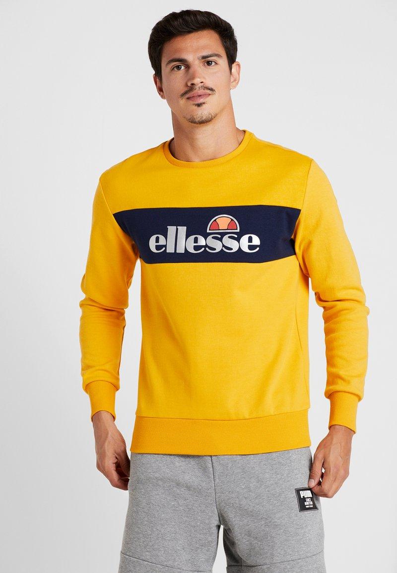Ellesse - NEBBIOLO - Mikina - dark yellow