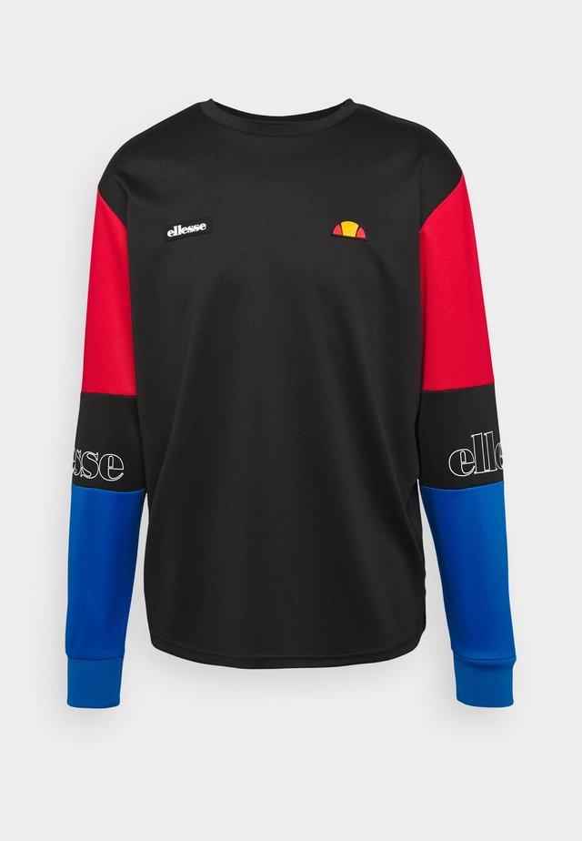 LINTEKA - Pitkähihainen paita - black