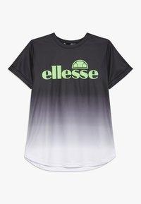 Ellesse - RUNATE - Triko spotiskem - black - 0
