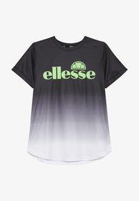 Ellesse - RUNATE - Triko spotiskem - black - 2