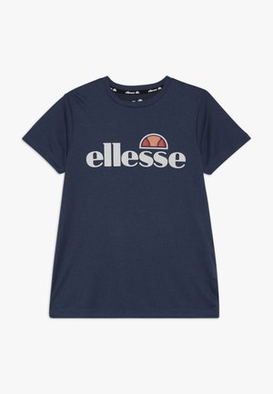 MOSIO - Print T-shirt - navy marl