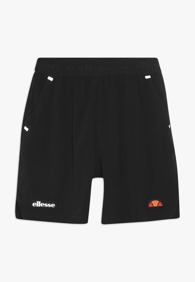 VIADANA SHORT - Sportovní kraťasy - black