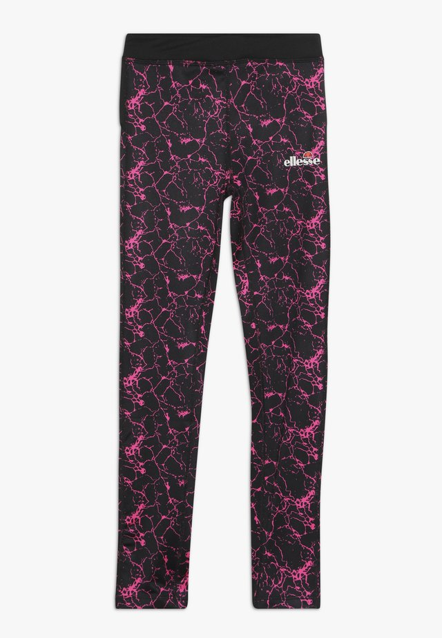 SETTIMA GRAPHIC LEGGING - Trikoot - black