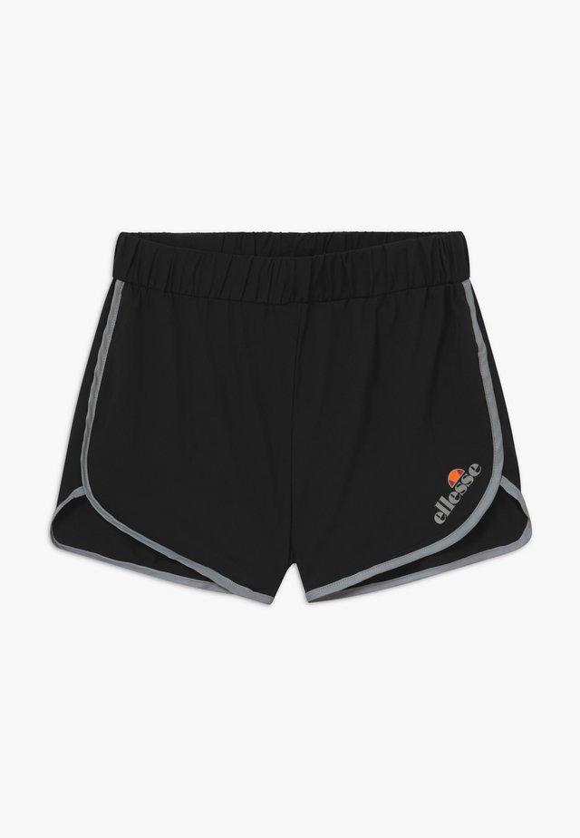 BRONZOLA RUNNING SHORT - Korte broeken - black