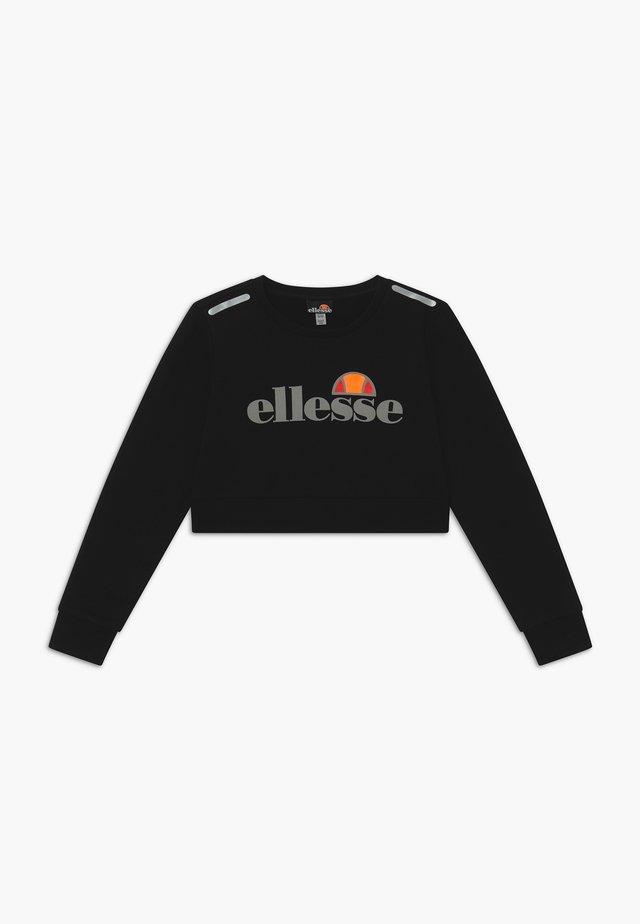 MARAFON CROPPED - Sweater - black