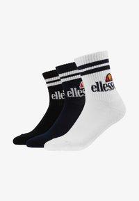 Ellesse - 3 PACK  - Calcetines - navy/white/black - 1