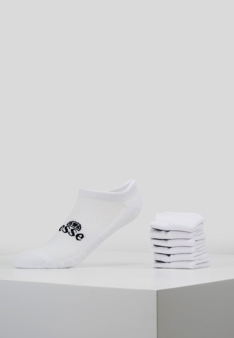 Ellesse - 6 PACK TRAINER LINER - Ponožky - white