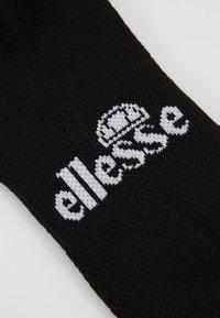 Ellesse - 6 PACK TRAINER LINER - Socks - black - 2