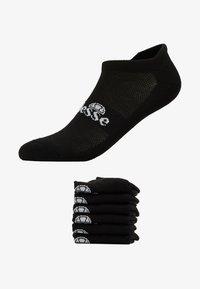 Ellesse - 6 PACK TRAINER LINER - Socks - black - 1