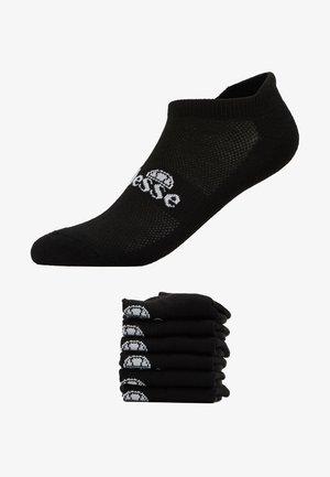 6 PACK TRAINER LINER - Chaussettes - black