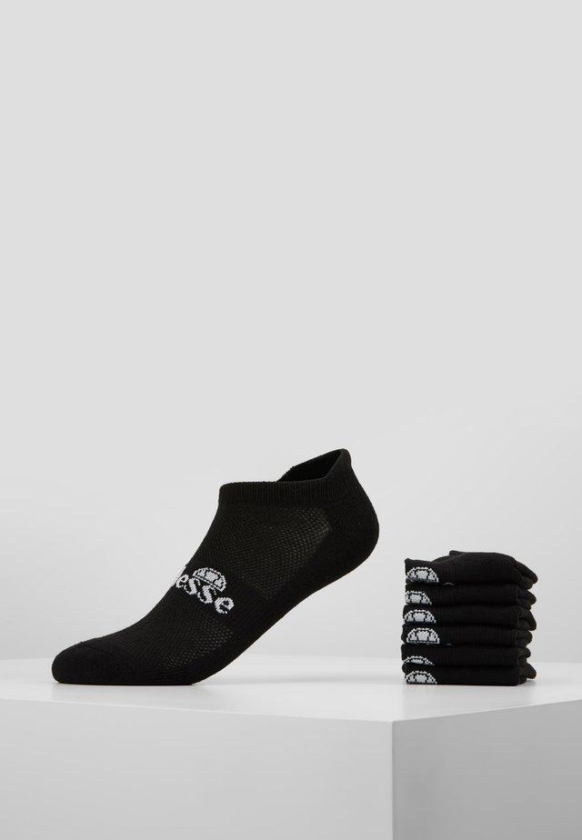 6 PACK TRAINER LINER - Socks - black