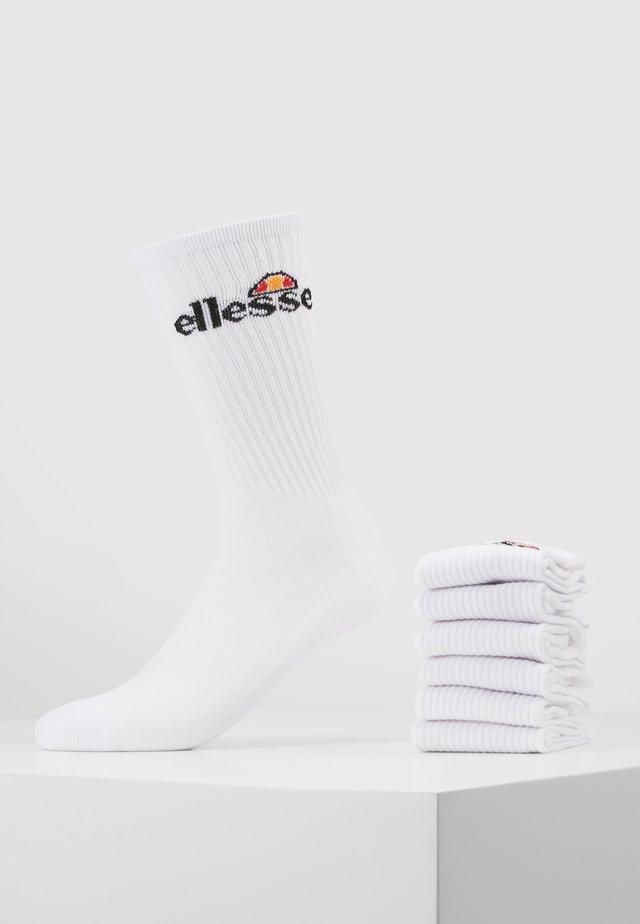 RANMA 6 PACK - Socks - white