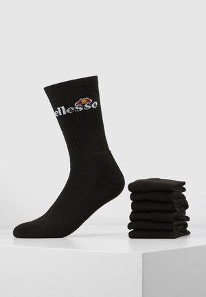 RANMA 6 PACK - Sokken - black