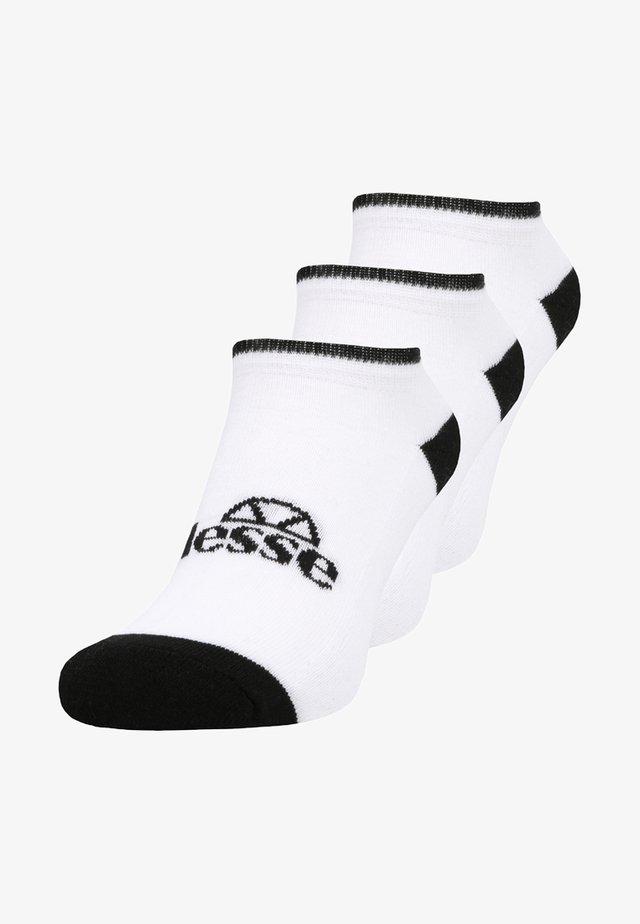 MELISA LINER 3 PACK - Ponožky - white