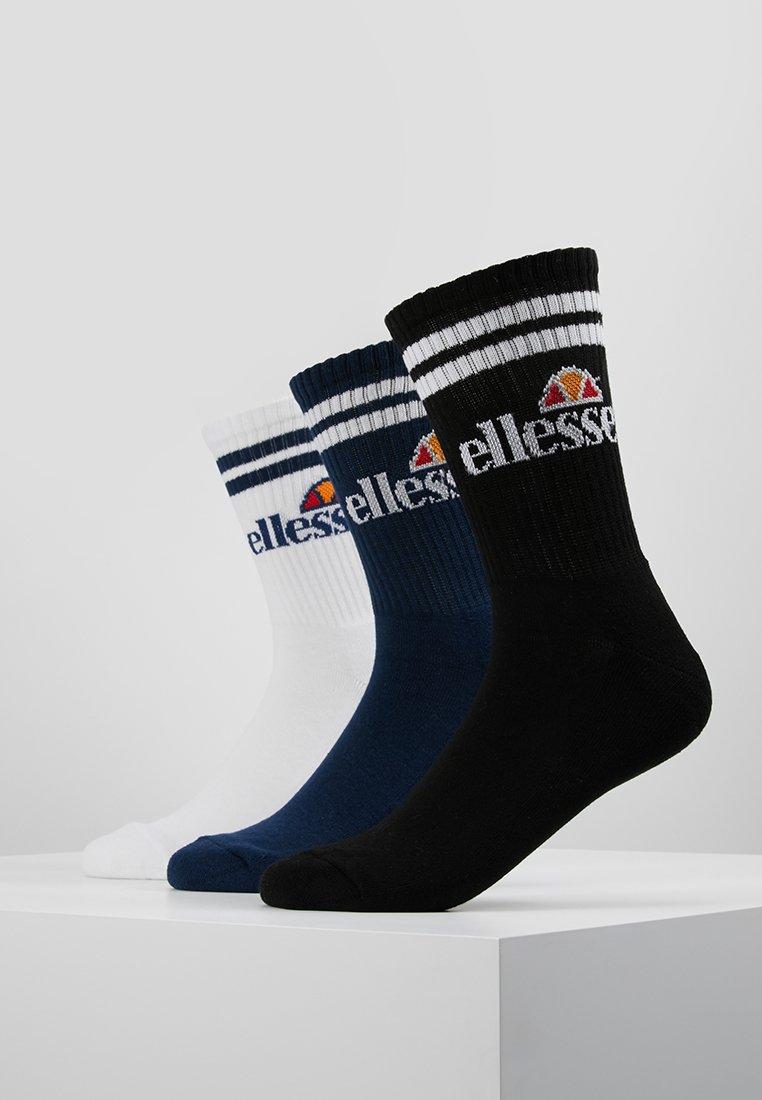 Ellesse - PULLO SOCK 3 PACK - Socks - navy/white/black
