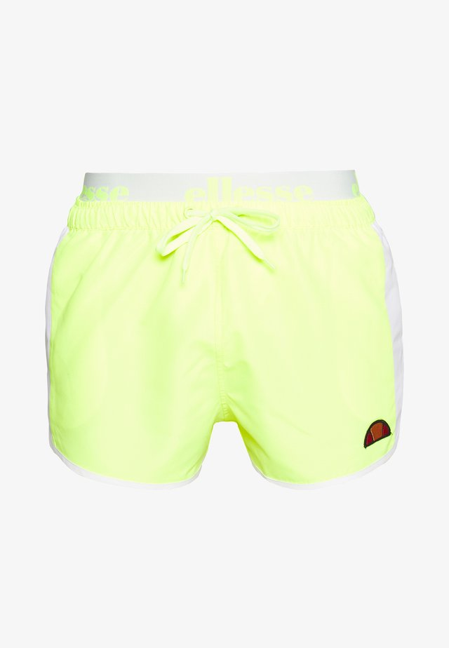 NASELLO - Badeshorts - neon yellow