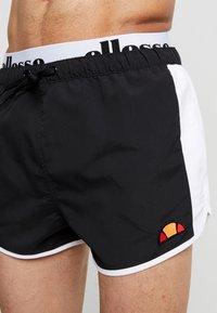 Ellesse - NASELLO - Shorts da mare - black - 3