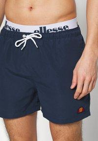 Ellesse - TEYNOR - Shorts da mare - navy/white - 3