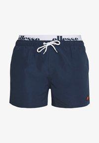 Ellesse - TEYNOR - Shorts da mare - navy/white - 2
